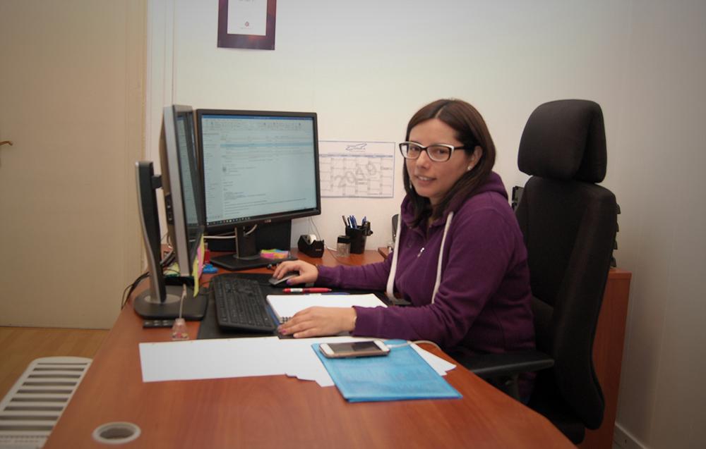 HMS/HR Koordinator Pamela Lopez Maldonado